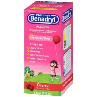 Benadryl Children's Allergy Cherry Flavor Liquid