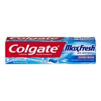 Colgate MaxFresh Whitening Toothpaste w/Mini Breath Strips Cool Mint Gel