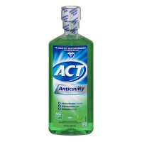 ACT Anticavity Fluoride Rinse Mint Alcohol Free