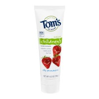 Tom's of Maine Children's Fluoride Toothpaste Silly Strawberry Natural