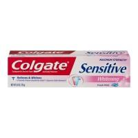 Colgate Sensitive Whitening Toothpaste Maximum Strength Fresh Stripe