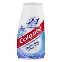 Colgate 2 In 1 Toothpaste & Mouthwash Whitening w/Stain Lifters Liquid Gel