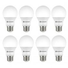 EcoSmart 60-Watt Equivalent A19 Non-Dimmable CEC LED Light Bulb Soft White (8-Pack)