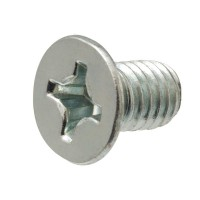 Everbilt #10-32 x 1/2 in. Zinc-Plated Flat Head Phillips Machine Screw (25-Piece/Pack)