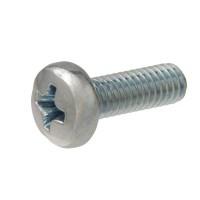 Everbilt M6-1.0 x 16 mm Phillips-Square Zinc-Plated Pan-Head Combo Drive Machine Screw (2-Piece)