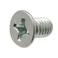 Everbilt #10-24 tpi x 4 in. Zinc-Plated Flat Head Phillips Machine Screw (2-Pack)