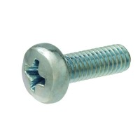 Crown Bolt M2-0.4 x 3 mm Phillips Pan-Head Machine Screws (3-Pack)
