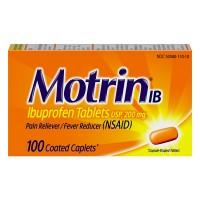 Motrin IB Ibuprofen 200 mg Coated Caplets
