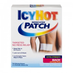 Icy Hot Medicated Patch for Back & Large Areas Extra Strength