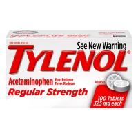 Tylenol Regular Strength Acetaminophen 325 mg Tablets