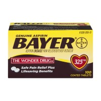 Bayer Aspirin 325 mg Coated Tablets