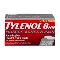 Tylenol 8 Hour Muscle Aches & Pain Caplets Acetaminophen 650 mg