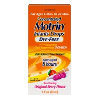 Motrin Infants' Ibuprofen Berry Flavor Dye Free Concentrated Oral Drops