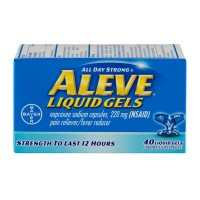 Aleve Naproxen Sodium 220 mg Liquid Gels