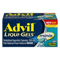 Advil Ibuprofen 200mg Liqui-Gel Minis