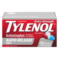 Tylenol Extra Strength Rapid Release Acetaminophen 500 mg Gel Caps