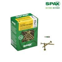 SPAX #8 x 2 in. T-Star Drive Flat-Head Partial Thread Yellow Zinc Coated Multi-Material Screw (161-Box)