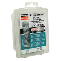 Simpson Strong-Tie 1/4 in. x 1-1/2 in. Strong-Drive Wood Screw (50-Pack)