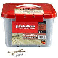 FastenMaster Guard Dog 3-1/2 in. Wood Screw (1350 per Pack)