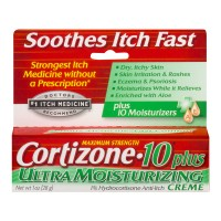Cortizone-10 1% Hydrocortisone Anti-Itch Creme Plus Ultra Moisturizing