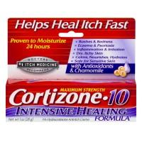 Cortizone-10 1% Hydrocortisone Anti-Itch Creme Intense Healing Maximum