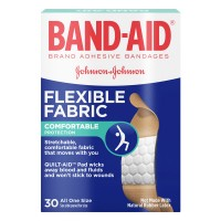 Johnson & Johnson Band-Aid Bandages Flexible Fabric 3/4 X 3 Inch