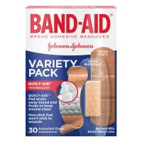 Johnson & Johnson Band-Aid Bandages Variety Pack Assorted Sizes