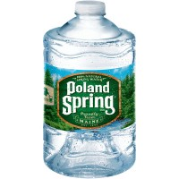 Poland Spring Water Clear Bottle