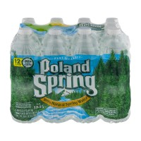 Poland Spring Water Natural - 12 pk