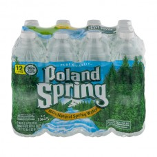 Poland Spring Water Natural - 12 pk