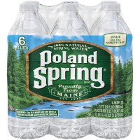 Poland Spring Water Natural - 6 pk