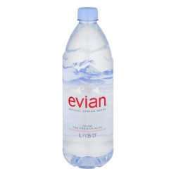 Evian Spring Water Natural