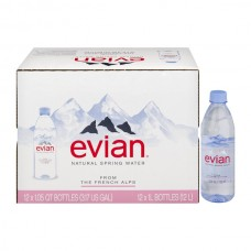 Evian Spring Water (Full Case) - 12 pk