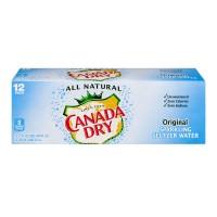 Canada Dry Original Sparkling Seltzer Water - 12 pk