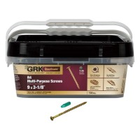 GRK Fasteners #9 x 3-1/8 in. Multi-Purpose Framing Screw Extended Contractor Pack (720-Piece)