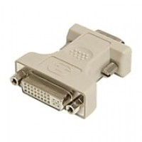 StarTech DVI To VGA Female/Male Video Cable Adapter, Beige