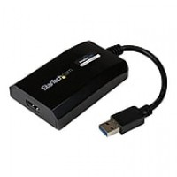 StarTech USB 3.0 To HDMI External Multi Monitor Video Graphics Adapter For Mac & PC, Black