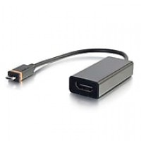 C2G® SlimPort 0.2 m USB Micro-B to HDMI Adapter Cable, Black