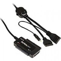 StarTech USB 2.0 to SATA/IDE Combo Adapter, Black