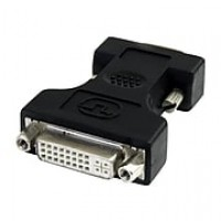 StarTech DVI To VGA Cable Adapter, Black