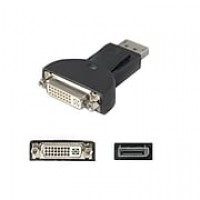 AddOn DISPLAYPORT2DVIADPT DisplayPort to DVI-I Video Adapter, Black
