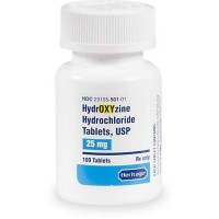 Hydroxyzine HCl 25 mg Tablets, 100 Count