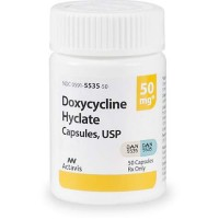 Doxycycline 50 mg Capsules, 30 Count