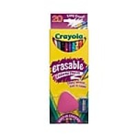 Crayola® Erasable Colored Pencil, Assorted, 24-count