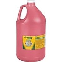 Binney & Smith Crayola® Washable Paints, Red, 1 Gallon