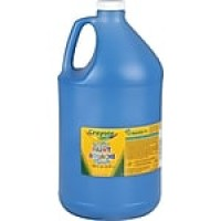 Binney & Smith Crayola® Washable Paints, Blue, 1 Gallon