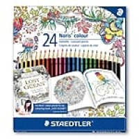 Staedtler® Noris® Johanna Basford Edition Colored Pencil, 24/Pack (185 C24JB)