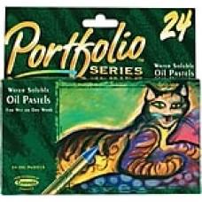 Crayola® Portfolio® Series Oil Pastels, 24/Box