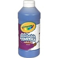 Binney & Smith Crayola® Artista II Washable Tempera Paint, Blue, 16 oz.