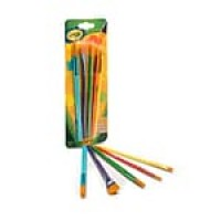 Crayola Arts and Craft Brush Set , 5/Pack (05-3506)